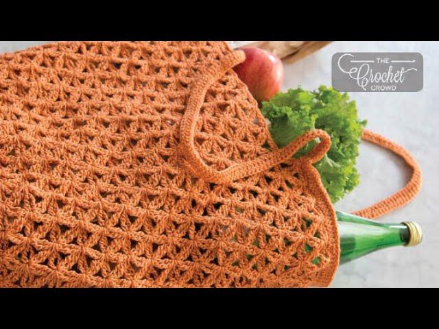 Tote Grocery Store Solomon/'s Knot Sack Fingering yarn Green Blue CROCHET PATTERN Marrakech Market Bag Lacy Handmade