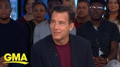 Clive Owen talks playing the bad guy and reveals his favorite movie villain l GMA