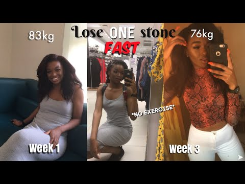 THREE THINGS I DID TO LOSE ONE STONE FAST IN THREE WEEKS | intermittent fasting | Maria Mwene