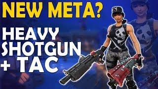 NEW META? HEAVY + TAC  | INTENSE HIGH KILL GAME | DAEQUAN - (Fortnite Battle Royale)