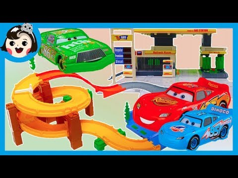 A Dda Dda Toysdisney Pixar Cars 3 Tomica Basic Road Set