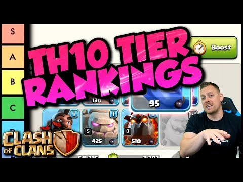 BEST And WORST Troops & Spells In Clash Of Clans | TH10 Tier List