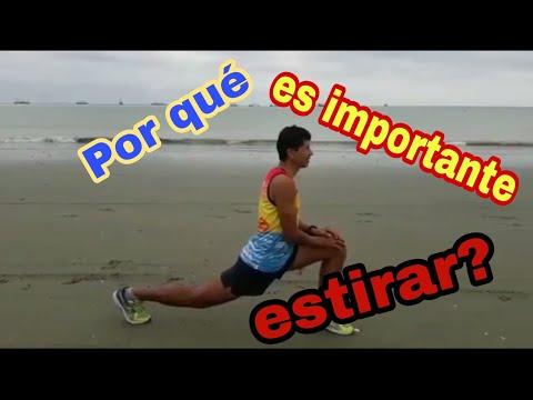 La importancia de realizar ejercios de estiramiento antes y despues del entrenamiento (Rafael Delgad