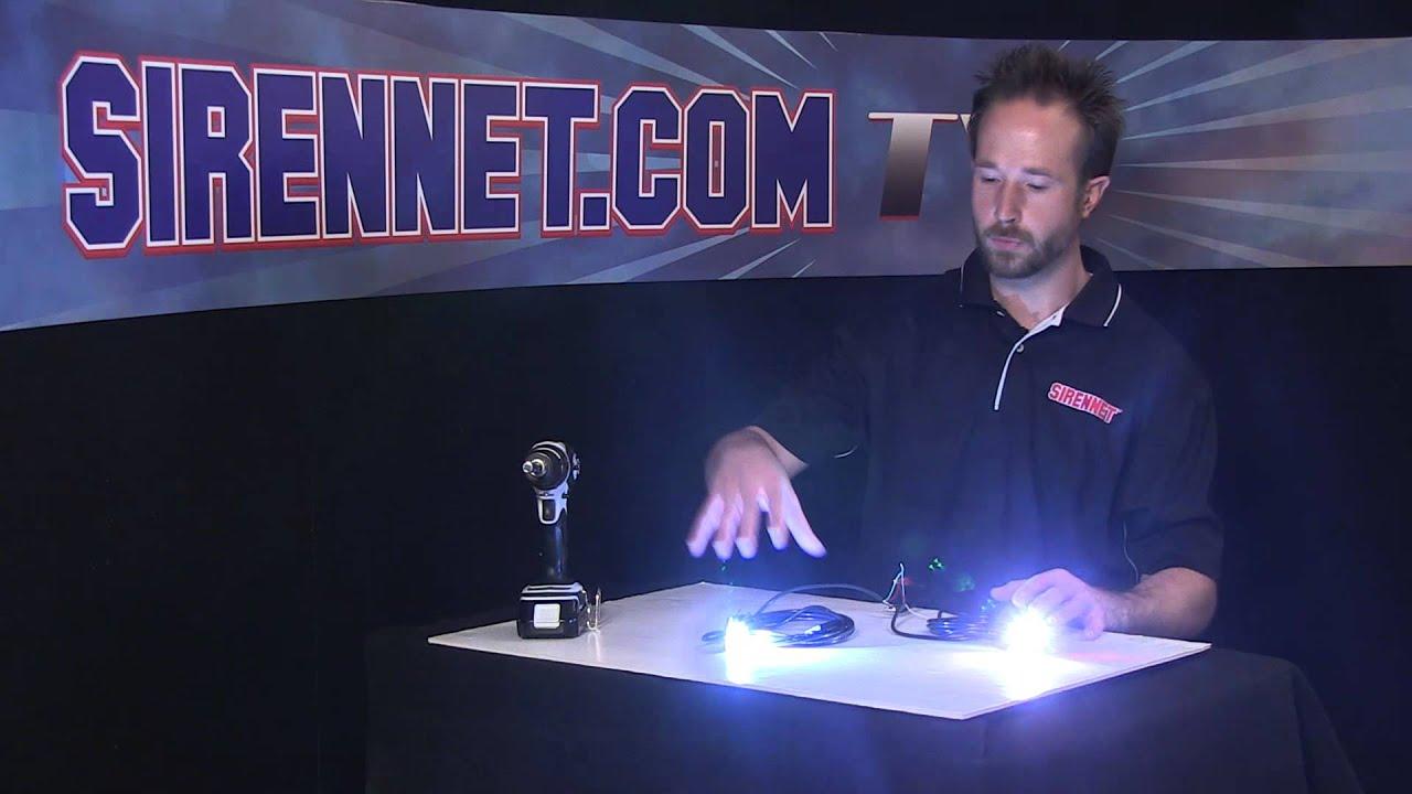 Chris Demonstrates Syncing Whelen Split Vertex Super Led Hide Aways Emergency Flasher Wiring Diagram