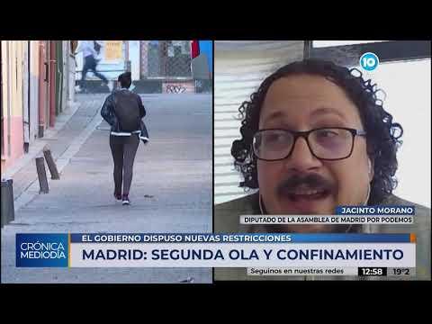 Madrid: primer día del confinamiento por el rebrote de coronavirus