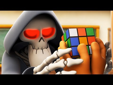 Spookiz | Solve the Puzzle - Rubik's Cube | 鞀ろ懜韨れ | Funny Cartoon | Kids Cartoons | Videos for Kids