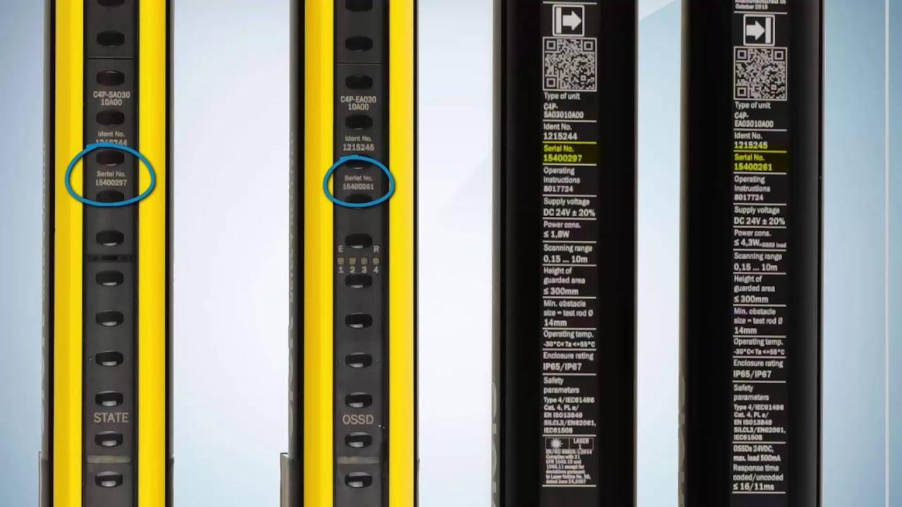 Sick Light Curtain Alignment Tool: Sick Detec4 Light Curtain Manual