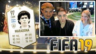 FIFA 19: PRIMER PACK OPENING y MÁS! Fran MG, SergioGameplayer y Arisha