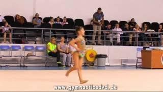 Alya Karadeniz (TUR) - Istanbul Rhythmic Cup 2016 - Girls 2006 - 04