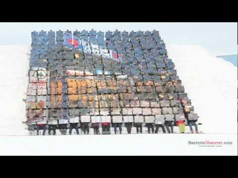 ME/WE - A North Korean mass game in Kirkenes, Norway