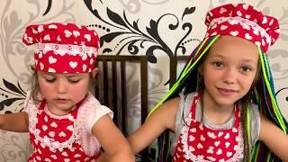 Простые рецепты - Готовим вкусные Разноцветные коктейли . Видео для детей