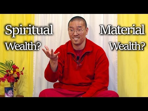 Spiritual Wealth vs Material Wealth - The Secret to Happiness