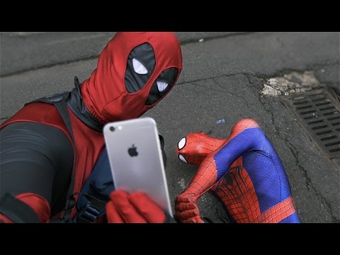 Deadpool Pranks Spider-Man