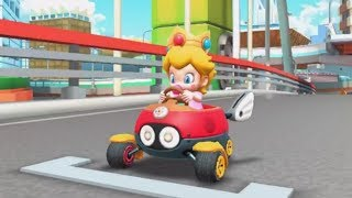 Evolution of  City Tracks in Mario Kart Games