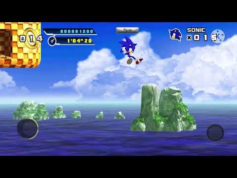 Sonic The Hedgehog 4 Episode 1 Gameplay Splash Hill Zone Act 1 |