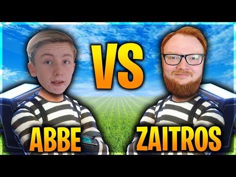 ZAITR0S VS ABBE! VEM ÄR BÄST? (Svenska Fortnite Highlights)