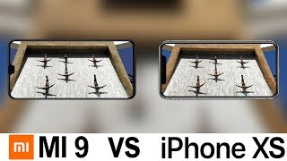 Xiaomi Mi 9 Vs iPhone XS Camera Test