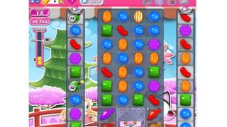 Funny Candy Crush Saga Level 372 Fast Completed ★