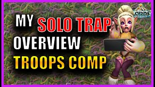 MY SOLO TRAP OVERVIEW! HOW TO CAP T5 EASY! - Lords mobile
