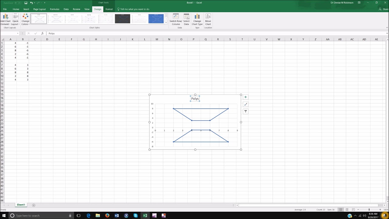 how to draw shapes in excel