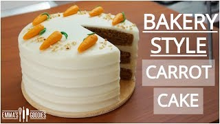 The BEST Carrot Cake Recipe With Cream Cheese Frosting - Bakery Style Carrot Cake