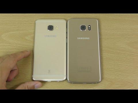 Samsung Galaxy C5 vs Samsung Galaxy S7 Edge - Speed Test! (4K)
