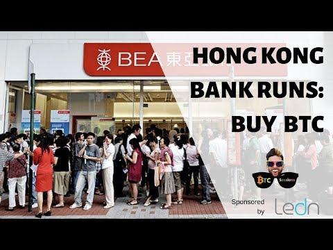 Hong Kong Bank Runs Highlight Bitcoin's Strength | Hodling Through Bearish Sentiment