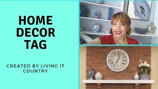 HOME DECOR TAG CREATED BY LIVING IT COUNTRY || CARON1310