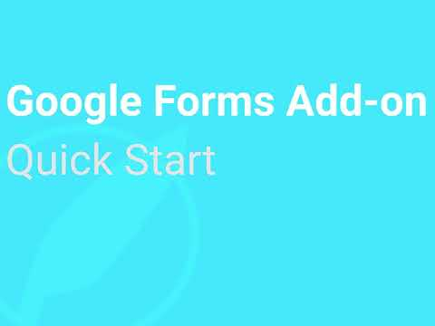 Google Forms hypatia Quick Start