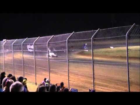 #28 David Forbis heat race @ Ark-La-Tex Speedway 10/20/12