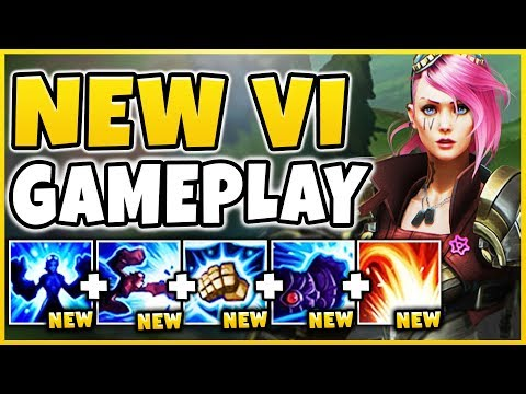 THIS *NEW* VI UPDATE IS ACTUALLY BROKEN! (INSANE CC + TANKINESS)  - League of Legends