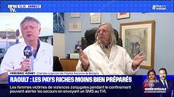 Une mortalité plus élevée dans les pays riches? Frédéric Adnet répond à Didier Raoult