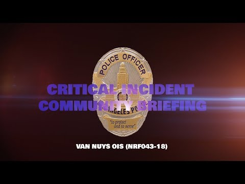 Critical Incident Video Release, NRF043-18
