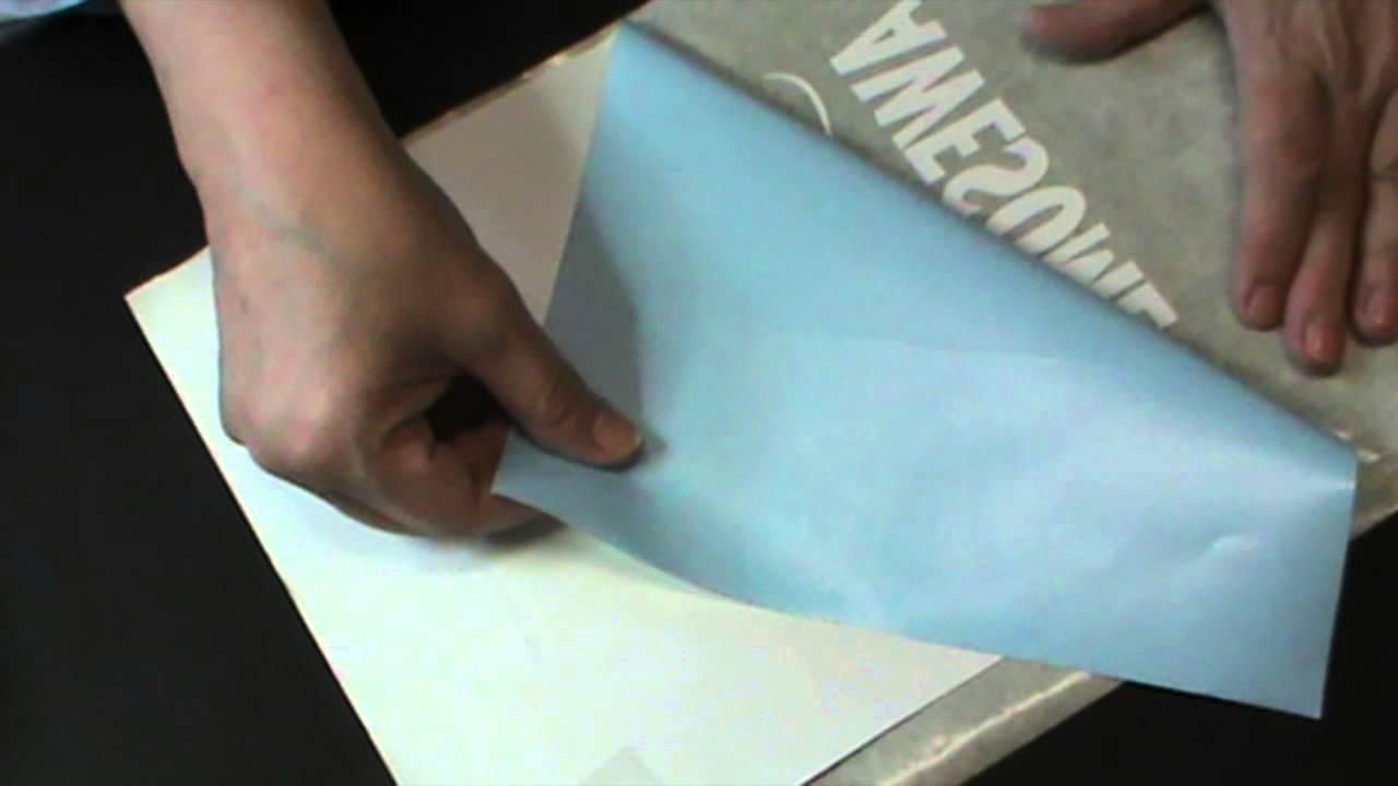 D couper du vinyle avec la silhouette et faire une carte g ante pour un anniv - Fabriquer une platine vinyle ...