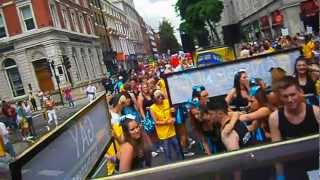 "Pride London WORLDPRIDE PARADE DAY Scenes ""Lesbian and Gay Pride"" 7TH JULY 2012 (4)"