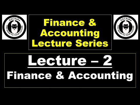 Lecture 2 : Finance & Account for SSC CGL Tier 2 (Paper 4 - AAO) by Kansal Consultancy