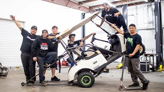 Our Golf Cart Is Ready For WHEELIES! (Build Off FINAL Day)
