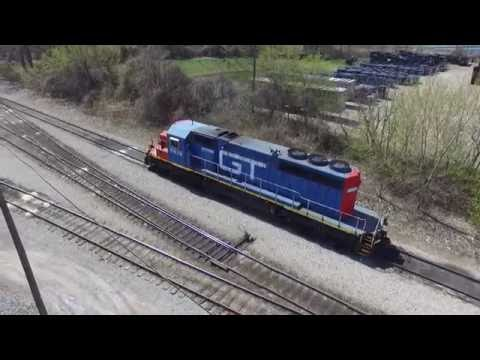 Grand Trunk Western SD40-2! (Sitting in yard)