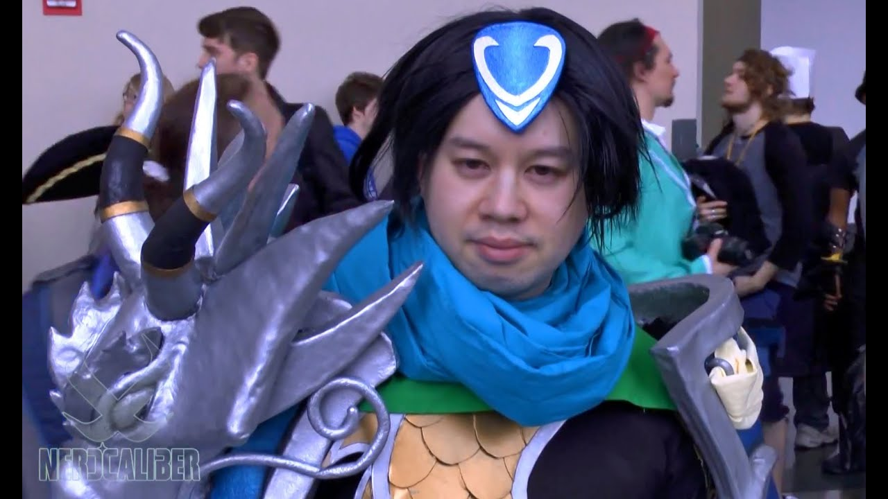 XIN ZHAO! League of Legends Cosplay at Anime Boston 2014 ...