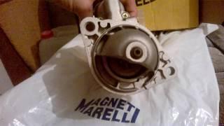 Стартер Magneti Marelli - Италия - Bosch на Опель Вектра А - C2.0NE (ОБЗОР)