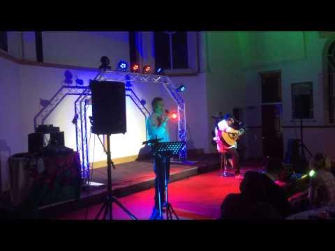 Ian Scott singing 'Run' at New Song Community Church with Danny Villarreal