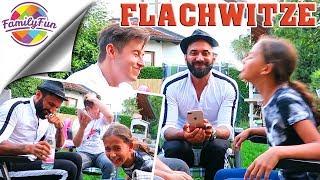 FLACHWITZ ANSPUCK CHALLENGE -  KRASSESTE  & LUSTIGSTE WASSERSCHLACHT - Family Fun