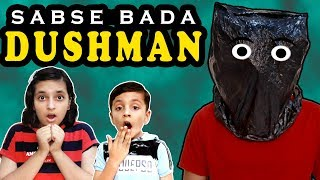 SABSE BADA DUSHMAN | Moral Story | Short movie on Plastic Ban | Aayu and Pihu Show