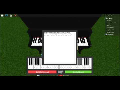 Roblox Piano [CLOSER] EASY + NOTES IN DESC