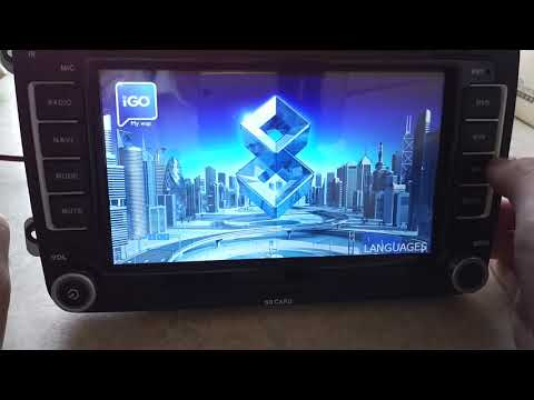 Install igo maps for vw car dvd gps