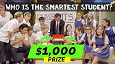 Boys vs Girls: Who is the Smartest Student?