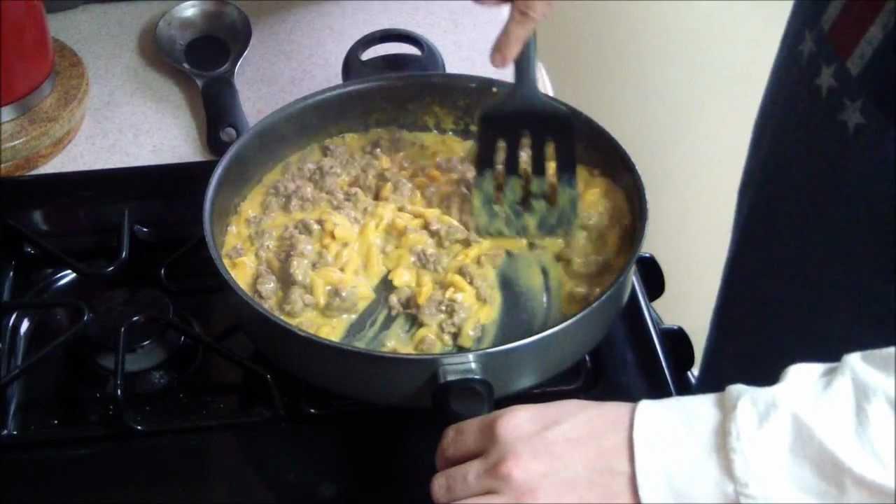 how to cook hamburger helper youtube
