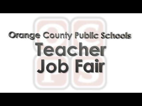 OCPS | Teacher Job Fair 2018