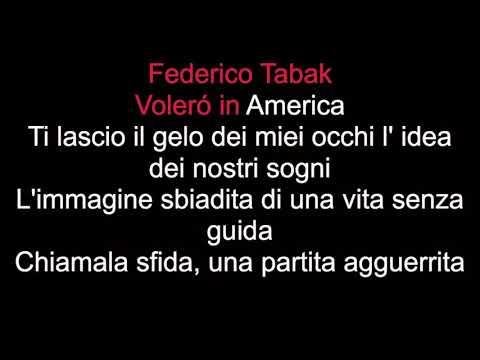 Volerò in America -Tabak ft -Veronica R. (Karaoke + cori)