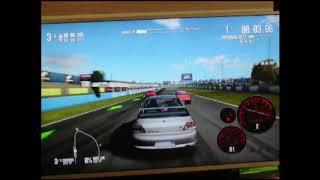 jogando need for speed shift 2 no xbox 360